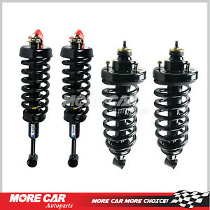 4x Quick Strut Spring Shock Absorber Fit 06 10 Ford Explorer Mountaineer