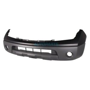 New Front Bumper Cover Primed Fits 2005 2008 Nissan Frontier Ni1000225