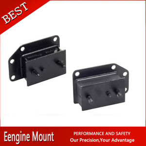 Westar Trans Engine Motor Mount Set 2x For 1963 1974 Mg Mgb L4 1 8l 110cid