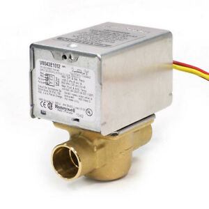 Honeywell V8043e1012 3 4 Sweat Zone Valve connection 18 Leads