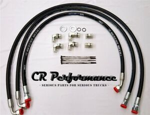 Duramax Transmission Cooler Lines Hoses 11 14 Chevy gmc 6 6l W allison Lifetime