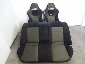 Jdm Honda Accord Euro r 1998 2002 Cl1 H22a Front Rear Recaro Seats