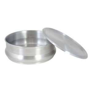 Commercial Aluminum Pizza Dough Retarding Pan 96 Oz 12 Pack lid Not Included