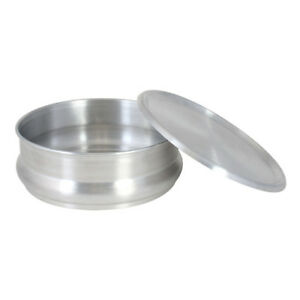 Commercial Aluminum Pizza Dough Retarding Pan 48 Oz 12 Pack lid Not Included