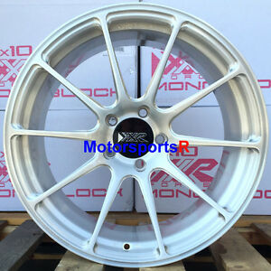 Xxr 527 Forged 18 Brushed Silver Rims Wheels Staggered 5x100 13 15 16 Scion Frs