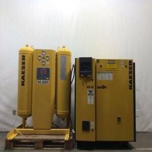 Kaeser As 25 Sigmarotary Screw Air Compressor 1838 Commercial Air Dryer Compress