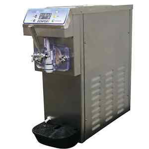 New Frozen Drink And Soft Serve Machine All In One