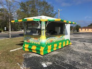 Used 14ft Food Concession Trailer 1986 Waymatic