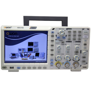 Owon Xds3102 100mhz Oscilloscope 25mhz Function Generator Vga Multimeter Us Ship