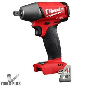 Milwaukee 2755 20 M18 Fuel 1 2 Compact Impact W Pin Detent tool Only New