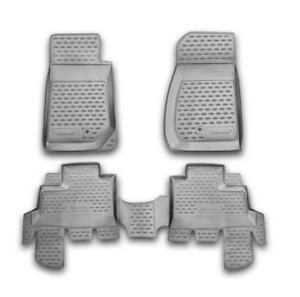 2007 2015 Jeep Wrangler Unlimited Custom Fit All Weather Heavy Duty Floor Mats