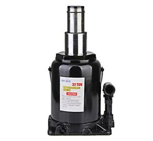 30 Ton Double Ram Bottle Jack 11 2 Stroke 10 Height Two Stages Hydraulic Long