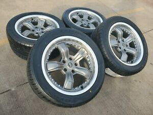 17 17x9 Are Ford Mustang Shelby Gt500 Oem Gray Wheels Rims Tires Oe 051659