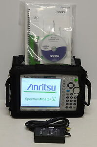 new Anritsu Ms2724c Spectrum Master Analyzer With 14 Options