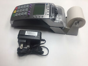 Verifone Vx520 emv nfc With 230 Paper Extender unlocked And 1 yr Warnty