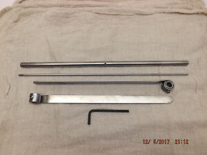 Kelsey 6x10 Early Model old Style Gripper Assembly 2 Grippers Bar Spring