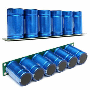 Farad Capacitor 2 7v 500f 6 Pcs 1 Set Super Capacitance With Protection Board