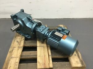 Sew Eurodrive Dft90s4bmg2 K77r37dt Gear Motor Right Angle Drive New