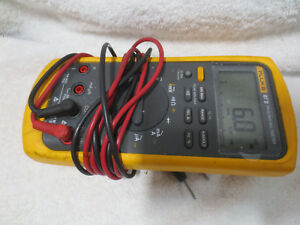 Fluke 87v Industrial True Rms Multimeter Temperature Electrical Tool Ac 87 5 V