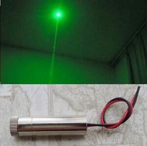 90mw Focusable 515nm 520nm Grass Green Dot Ray Laser Diode Module 3v 4v 1245