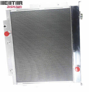 3 Row Performance Radiator For 83 94 Ford F 250 F 350 Diesel V8 Mt Only