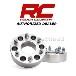 Chevrolet Gmc 1500 6 X 5 5 6 Lug 2 Rough Country Wheel Spacers Pair 1101