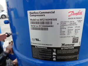 Compressor Mtz160hw3ve Danfoss Commercial