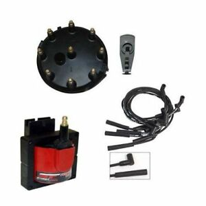 Msd Streetfire Tuneup Kit 86 95 Mustang 5 0l Cap Rotor Coil Spark Plug Wires