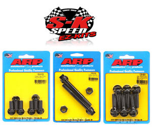 Arp Motor Mount Bolts Bellhousing To Block Bolts Chevy Small Block big Block