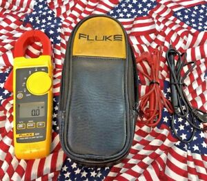 Fluke 325 True Rms Multimeter Multi Meter W Case Leads Free Shipping