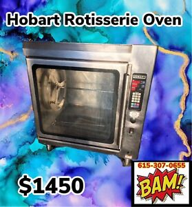 Hobart Rotisserie Oven Electric Model Ka7em 208v 1 Or 3 Phase
