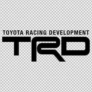 Trd Toyota Racing Development Vinyl Sticker Decal Jdm Supra Celica Frs Gt86 Taco
