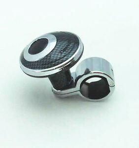 Carbon Steering Wheel Knob Auxliary Spinner Knob Handle Boost Aid For Vechiles