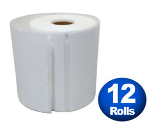 Dymo 4xl Direct Thermal Shipping Labels 4x6 12 Rolls 1744907 Compatible