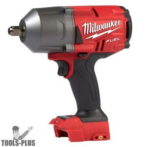 Milwaukee 2766 20 M18 Fuel High Torque 1 2 Impact W Pin Detent tool Only New