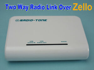 Radio tone Rt roip1 Interface Interconnects Radio Smartphone Zello Roip