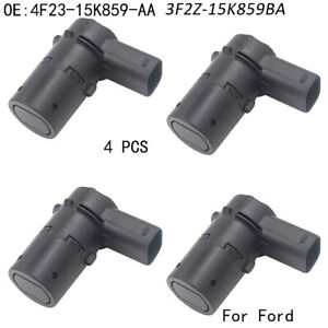 4 X New Reverse Backup Parking Assist Sensors For 2001 2011 Ford F250 Truck Pdc
