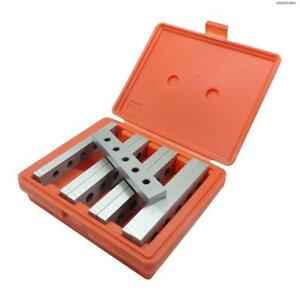 Bodee 4 Pairs Steel Precision Parallel Set 1 2 Thick 6 Long