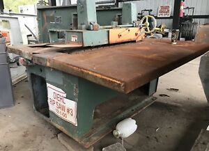 Diehl Sl 52 Straight Line Rip Saw Woodworking Equipment Sl52