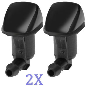 A Pair Windshield Wiper Water Washer Nozzle For 2008 2012 Chevrolet Malibu New