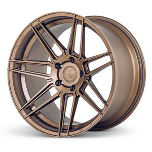 20 Ferrada F8 fr6 Bronze Forged Concave Wheels Rims Fits Porsche 997 Carrera