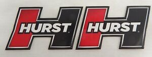 Lot Of 2 3 5 Hurst Sticker Decal Hot Rod Muscle Car Street Rod