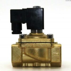 Precise Sfpu220 n08 120vac 1 Brass Electric Solenoid Valve Direct Acting air G