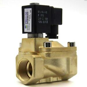 Precise Sfpu220 n08 24vdc 1 Brass Electric Solenoid Valve Direct Acting N c