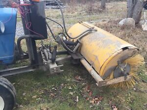 1969 Ford 3000 Farm Tractor W Custom Front Pto For Sweeper Enclosure Well Maint