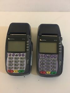 Lot Of 2 verifone Vx570 Dual Comm Terminal as Is No Warranty