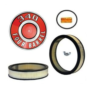 Mopar Air Cleaner Detail Set For 1967 1971 A body 340 383 440