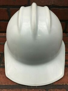 Vintage E d Bullard Hard Boiled Plastic Hard Hat Powder Blue