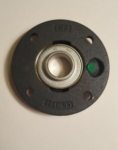 4 bolt Flange Bearing With Ball Bearing Insert And 33mm Bore Dia