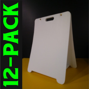 Sandwich Board Sign new blanks diy wholesale free Standing 12 pack